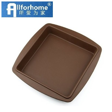 8 Inch Square Silicone Cake Baking Pan Pie Bread Mold Loaf