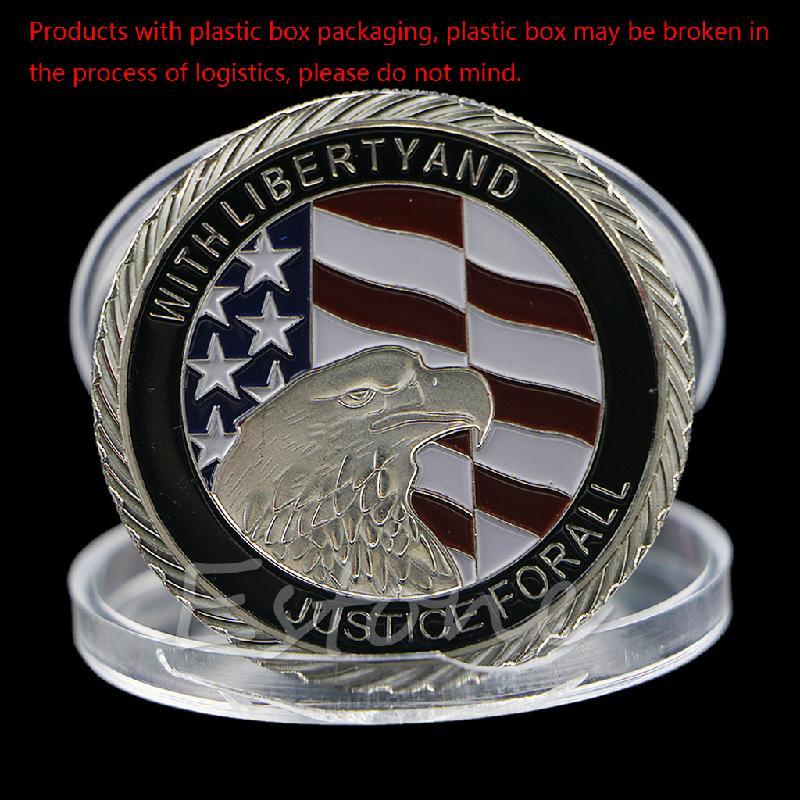 2001 9,11 Соединенные Мы стоим атака справедливости для памятной коллекции монет Q9QA
