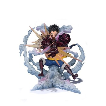Anime One Piece SA-MAXIMUM P.O.P Zero the Bound Man Monkey D Luffy PVC Action Figure Model Toys Collection Toy Gifts 1