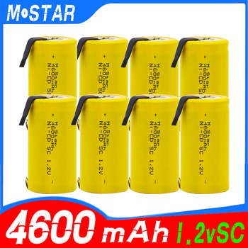 High quality SC Ni-CD battery 4600mAh 1.2V rechargeable battery with for electric drill for bosch Hitachi dewalt for power tools power tool battery 18v ni cd ni mh 5000mah rechargeable for hitachi drill eb1820 eb1814 eb1826hl eb1830hl 322437 battery