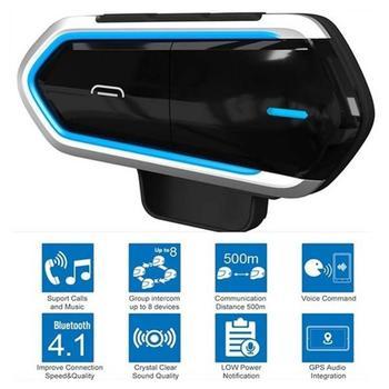 85% Hot Sales!!! B35 Motorcycle Riders Helmet Intercom Bluetooth 4.1 Headset Interphone Audio Kit