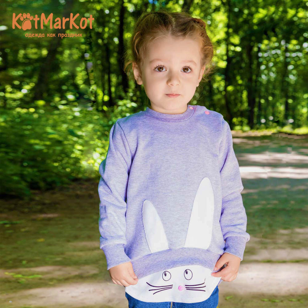Фото - Blouses & Shirts Kotmarkot 73702 pullover jumper for boys and girls jackets  Cotton Girls Casual girls jackets