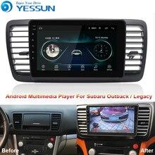 สำหรับ Subaru Outback LEGACY 2004 ~ 2009 เครื่องเล่นมัลติมีเดียสำหรับ Android วิทยุนำทาง GPS Big Screen Mirror Link