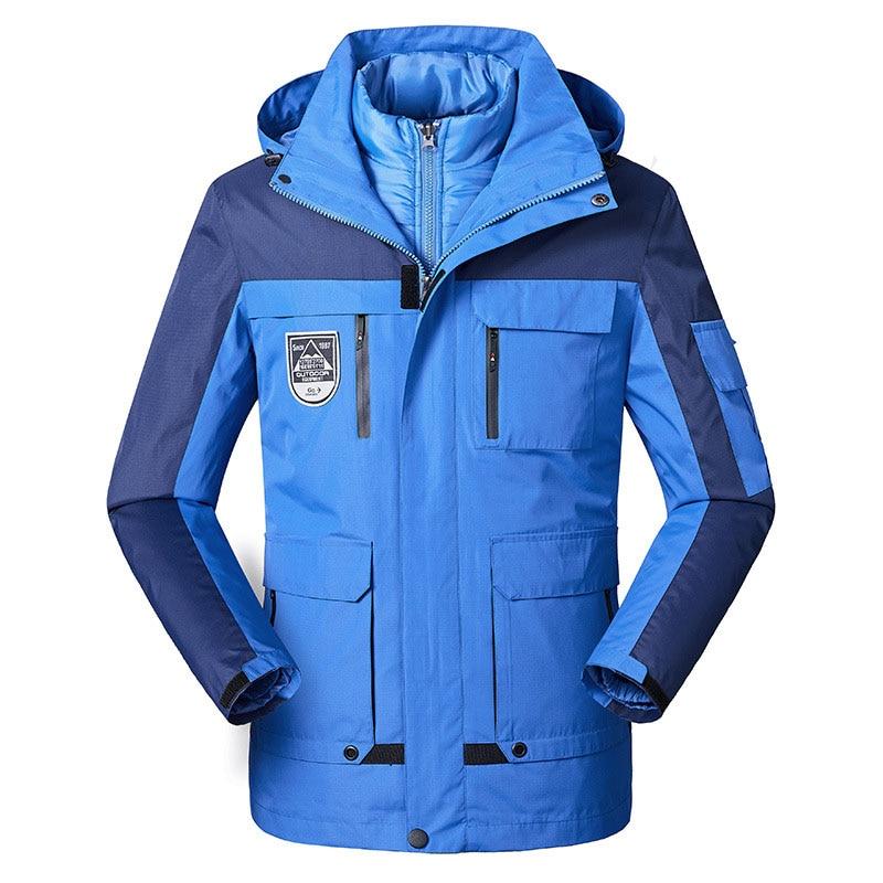 Winter Ski Jackets Men Outdoor Thermal Waterproof Windproof Snowboard Jackets Camping Trekking Hiking Jacket Snow Skiing Jacket