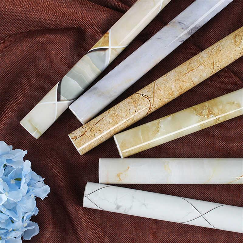 Marmo carta da parati Della Parete Della cucina carta da parati Anti-olio pasta di Auto-adesivo foglio di bagno impermeabile adesivi murali carta da parati in vinile