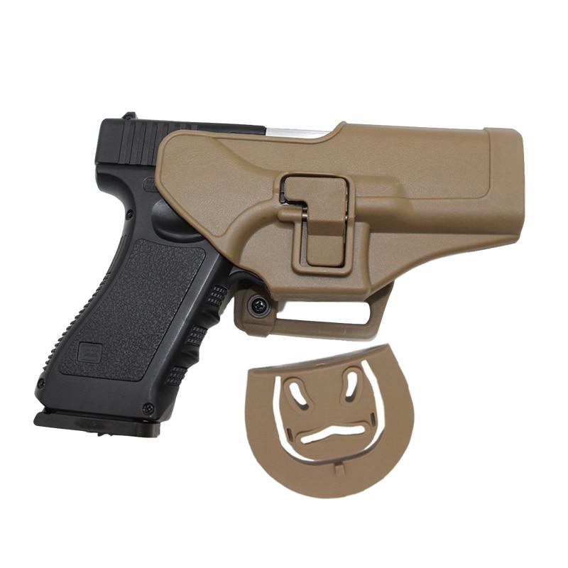 Étui à pistolet tactique pour Glock 17 19 Beretta M9 Colt 1911 HK USP Sig Sauer P226 série Airsoft étui à ceinture étui à pistolet militaire