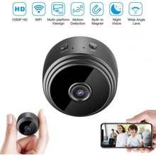 Беспроводная мини камера 1080p с wi fi дистанционным управлением