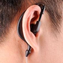 Walkie talkie Baofeng earphone uv 5r earbuds PTT with mic in ear hook headphone k port two way radio headset uv-5r bf-888s