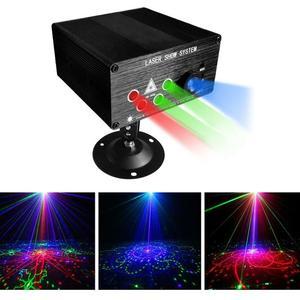 Image 3 - RGB เลเซอร์โปรเจคเตอร์ Light Disco Ball Party ไฟ Strobe Light RGB ไฟ LED Stage สำหรับคริสต์มาสหน้าแรก KTV Xmas งานแต่งงานแสดง