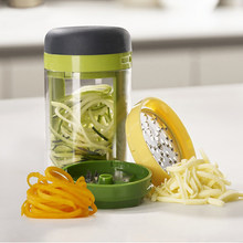 New Chopper Three In One Shredded Vegetables Rotating Cup Shredded Cold Dishes Chopper Sliced Cucumber And Zucchini
