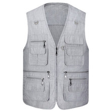2020 New Arrival Multi-pockets tactical Men Professional Photography Cameraman Vest(China)