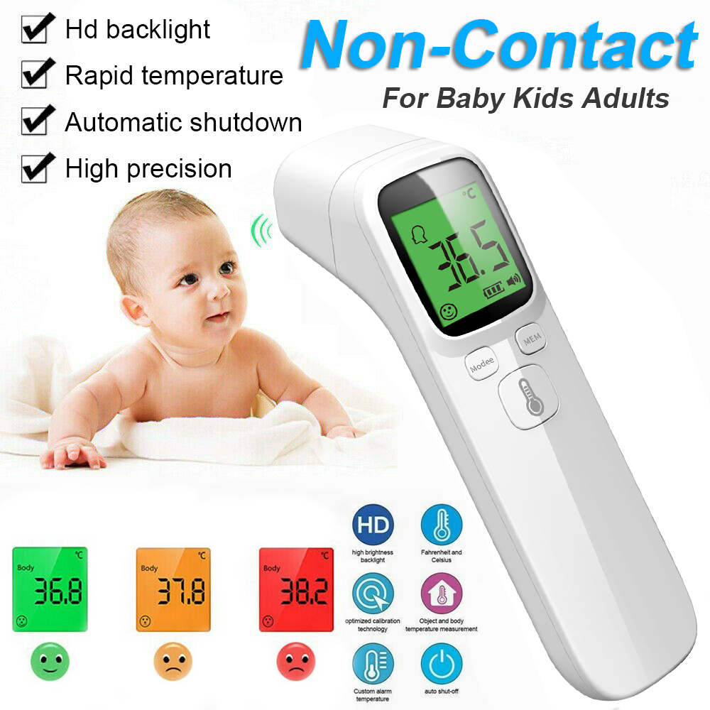 Baby Thermometer Infrared Adult Digital Termometro Non Contact Accurate Body Measuring Equipment Fever IR Children Termometro