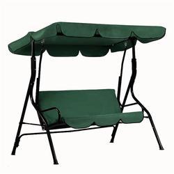 Poliester tafta parasol przeciwsłoneczny wodoodporny Patio huśtawka pokrywa pyłoszczelna wymiana pokrywa na zewnątrz 3 siedzenia krzesło obrotowe