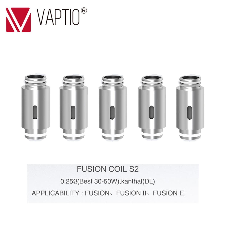 【RU】Replaceable Coils FOR Fusion/Fusion 2/Fusion E Vape Kit Electronic Cigarette 10-50W COILS 0.25/0.5/0.8ohm Coil Atomizer Head