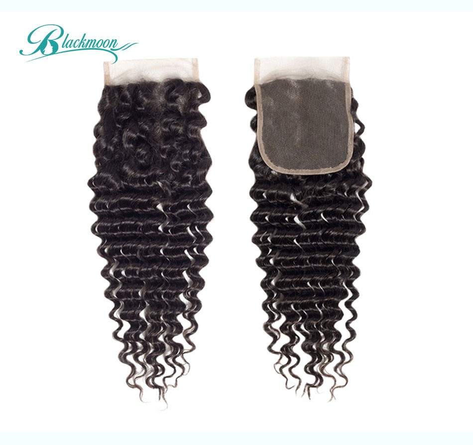 curly hair lace closure02
