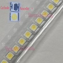 100PCS/Lot Original LG Innotek SMD LED 3528 2835 3V 1W 100LM Cool white for TV Backlight Application