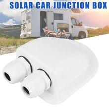 1/2 agujeros techo de entrada caja de glándulas Solar Panel Cable autocaravana caravana, barco, Agujero doble RV yate Camper Van accesorios de coche