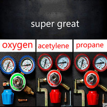 welding tool Pressure indicator oxygen acetylene propane Carbon dioxide check welder Bottle test table pointer style стоимость
