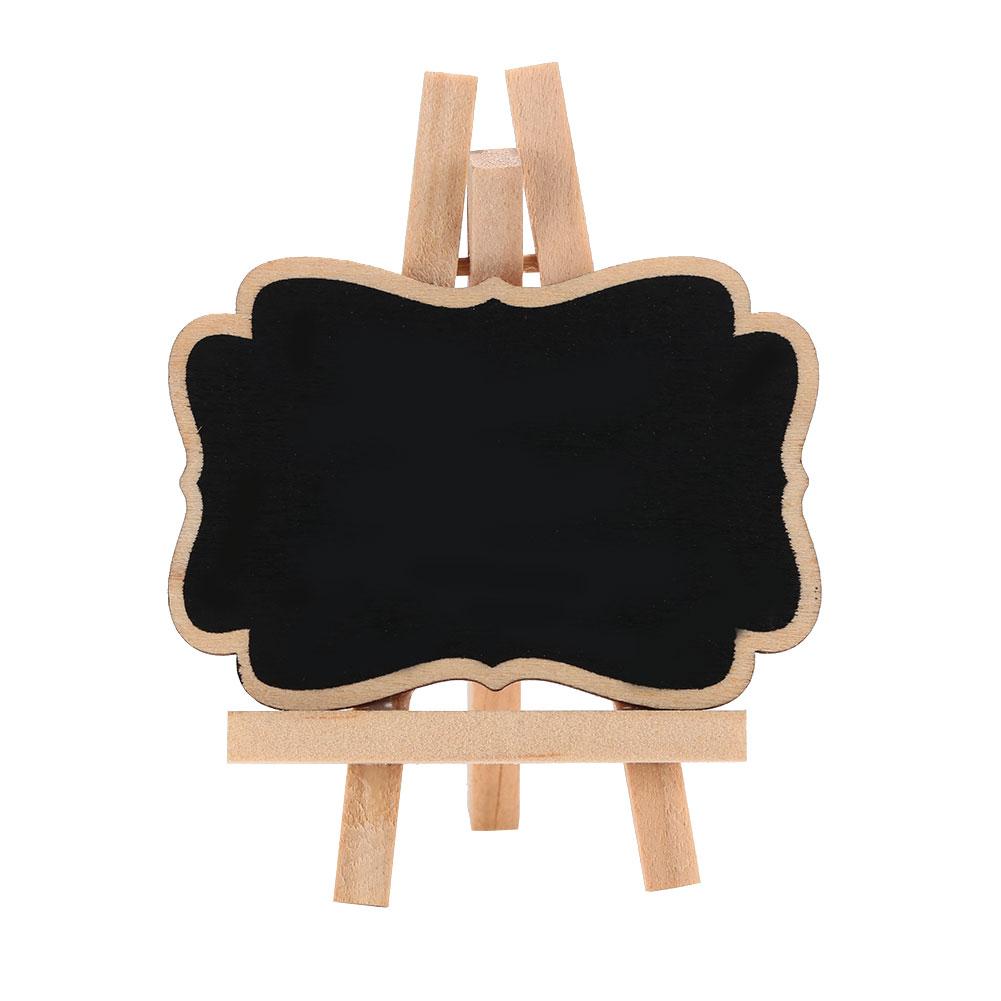 Мини Классная доска деревянный Рождественский Свадебный декор доска для рисования