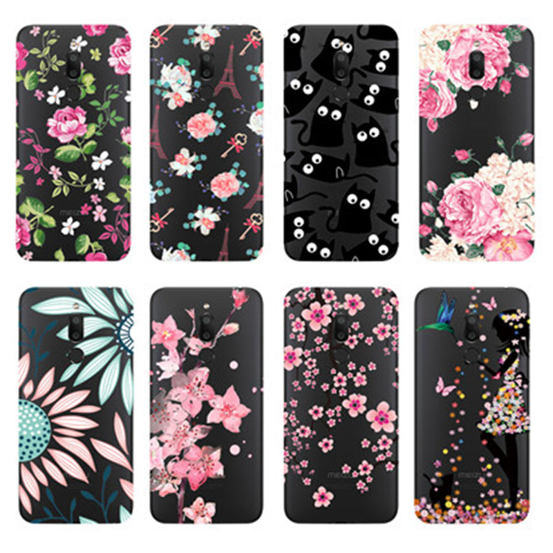 For <font><b>Meizu</b></font> <font><b>M6T</b></font> <font><b>Case</b></font> 5.7'' Silicone Painted Back Cover For <font><b>Meizu</b></font> <font><b>M6T</b></font> <font><b>Case</b></font> M6 T Cover Soft <font><b>TPU</b></font> Fundas for <font><b>Meizu</b></font> M 6T M811H Bumper image
