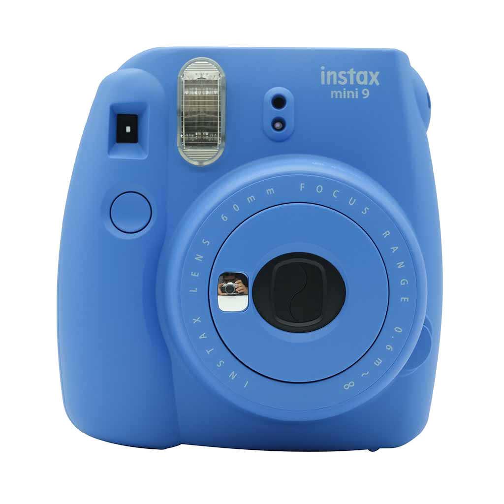 Asli Fujifilm Instax Mini 9 Kamera Film Hadiah Bundle Baru 5 Warna Hadiah Tahun Baru Natal Kamera Foto kamera