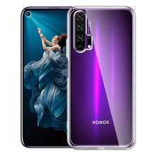 Tranparent TPU Case for Huawei Honor 20 Pro 20Pro 20i Soft Cases for Honor Hono 20 Pro Lite 20S Silicone Back Protective Cover ultra thin matte soft cover for huawei honor 20 phone cases 20 pro 20i 20s 10 lite slim tpu case for honor 10 lite 20 20pro 20i