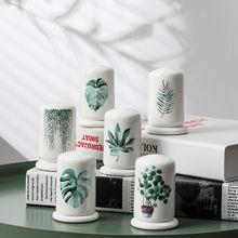 Керамическая коробка для зубочисток ведро отеля ресторана креативная