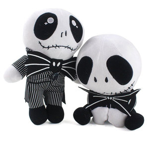 The Nightmare Before Christmas Jack Skellington Plush Toys Doll Skull Jake Plush Stuffed Toys for Children Kids Gift 20-25cm