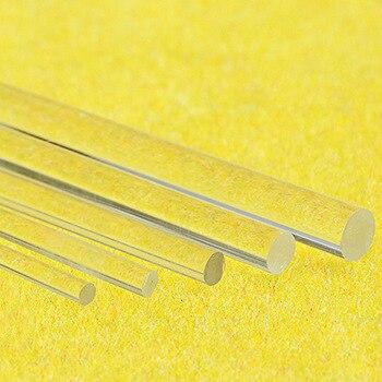 CLEAR ACRYLIC PERSPEX  ROD SHAFT BAR 2MM 3MM 4MM 5MM 6MM 8MM 12MM 10MM 15MM 20MM