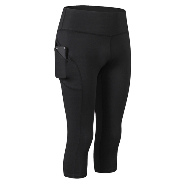 Women Capri Leggings Sport...