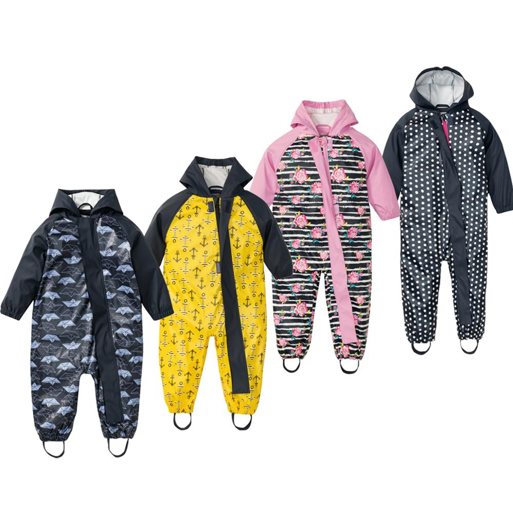 Kids Jumpsuit Girls Waterproof Softshell Overall Kids Girls Wide Pants Raincoat Girl Jacket For Boys And Girls Clothes