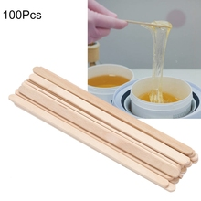 Disposable Hair Removal Stick Wooden Depilatory Wax Applicator Stick Spatula Waxing Tongue For Waxed Wood Stick Tools tanie tanio Magical Halo Kobiet Other YB-JM19896