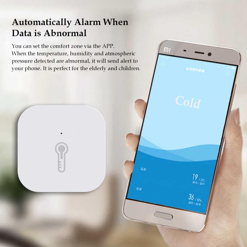 สมาร์ทXiaomi Aqara Airความดันอุณหภูมิความชื้นเซนเซอร์รีโมทคอนโทรลZigbeeทำงานร่วมกับGateway Hub Mijia App