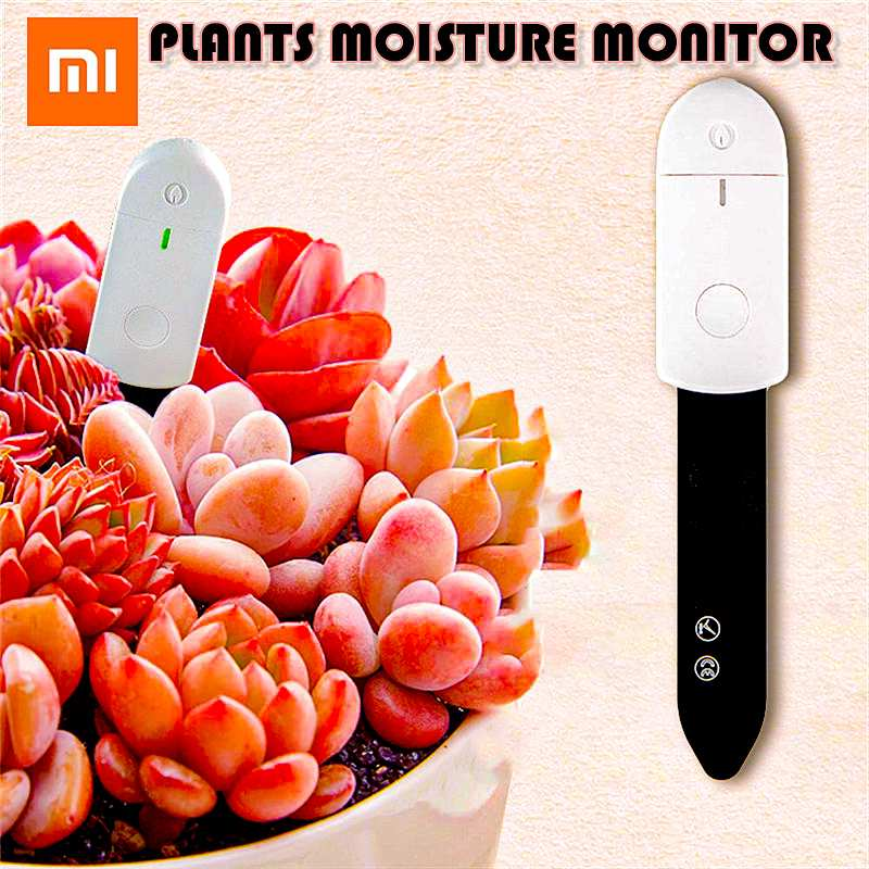 Xiaomi Indoor Greenhouse Flower Bonsai Garden Plants Care Soil Water Light Smart Moisture Monitor Tester Damp Detector Analyzer