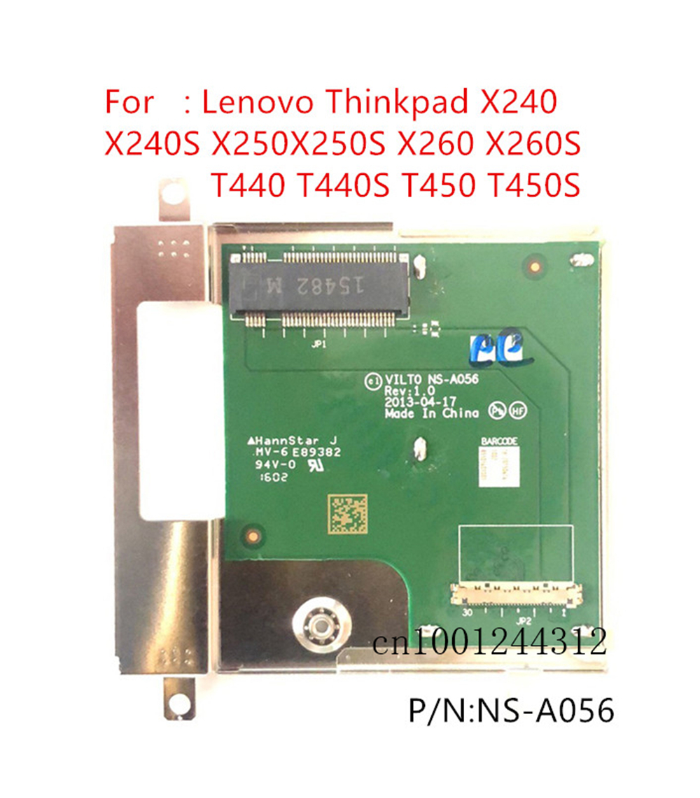 New Original For <font><b>Lenovo</b></font> Thinkpad T440 <font><b>T440S</b></font> T450 T450S SSD connecter board NS-A056 image