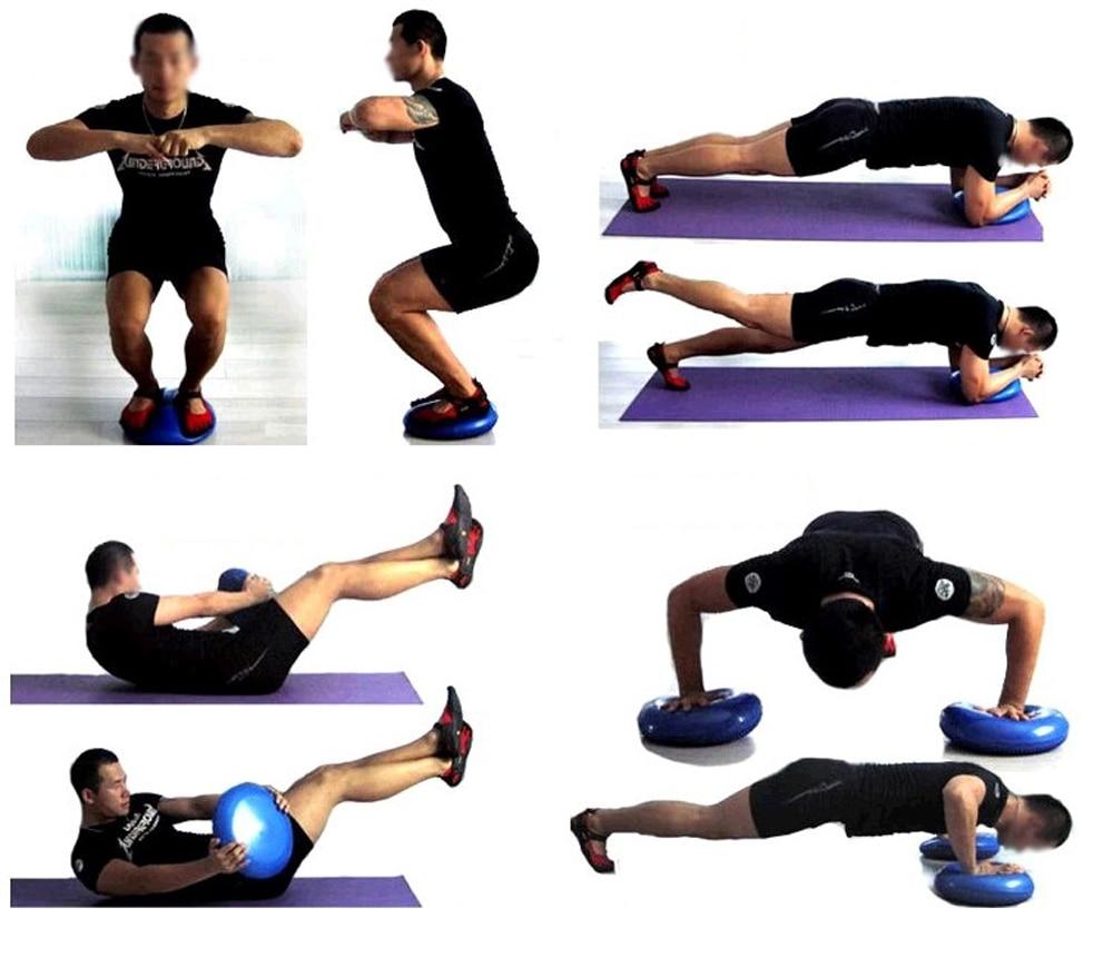 Inflatable Yoga Massage Ball (2)