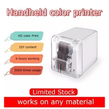 【In STOCK】Kongten Mbrush Printer Bluetooth Mobile Color Mini Handheld Printer Portable Wifi Printers PrinCube Handheld Inkjet