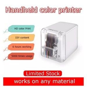 Image 1 - 【In STOCK】Kongten Mbrush Printer Bluetooth Mobile Color Mini Handheld Printer Portable Wifi Printers PrinCube Handheld Inkjet