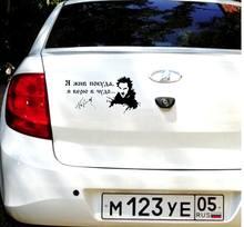 Rei eo tolo ue estou vivo enquanto ue acredito los hum milagre engraçado N2120 e decalque adesivos de carro adesivo de carro