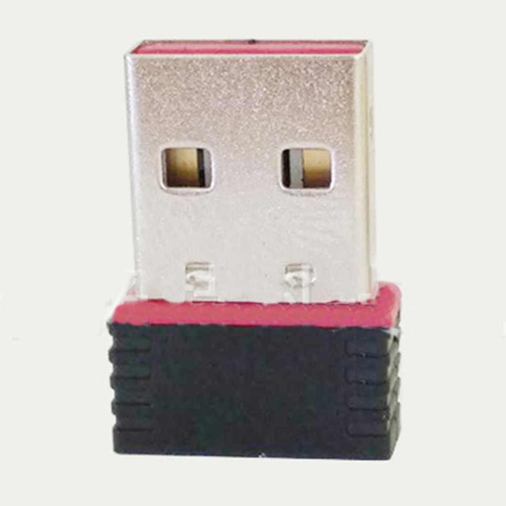 Adapter wifi USB Usb WiFi ethernet karta sieciowa mini PC wifi bezprzewodowy komputer karta sieciowa odbiornik Dual Band dropshipping