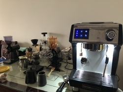 Commercial espresso coffee machine/coffee cup machine/Cappuccino Coffee maker with imported water pump
