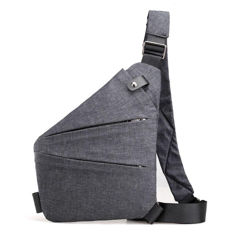Men's Chest Bag Phone Pocket Messenger Sports Multi-function Men Shoulder Handbag Personal Shoulder Anti-theft Bag 2019