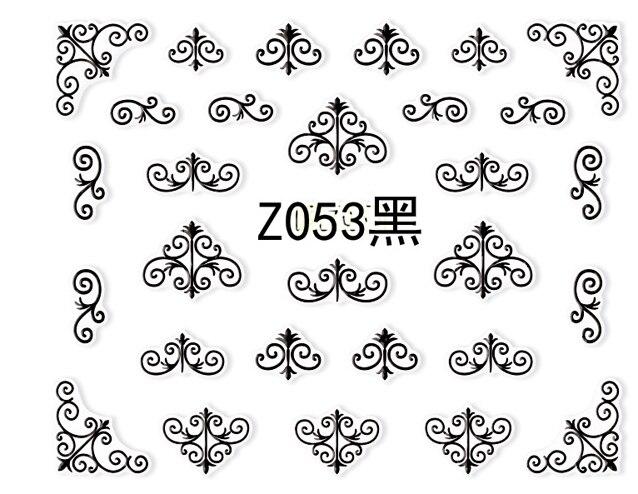Z053 黑色