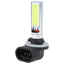 цена на Car Fog Light Bulbs 12V High Power 2 COB LED Fog Lights Bulbs Super White  Car Lights