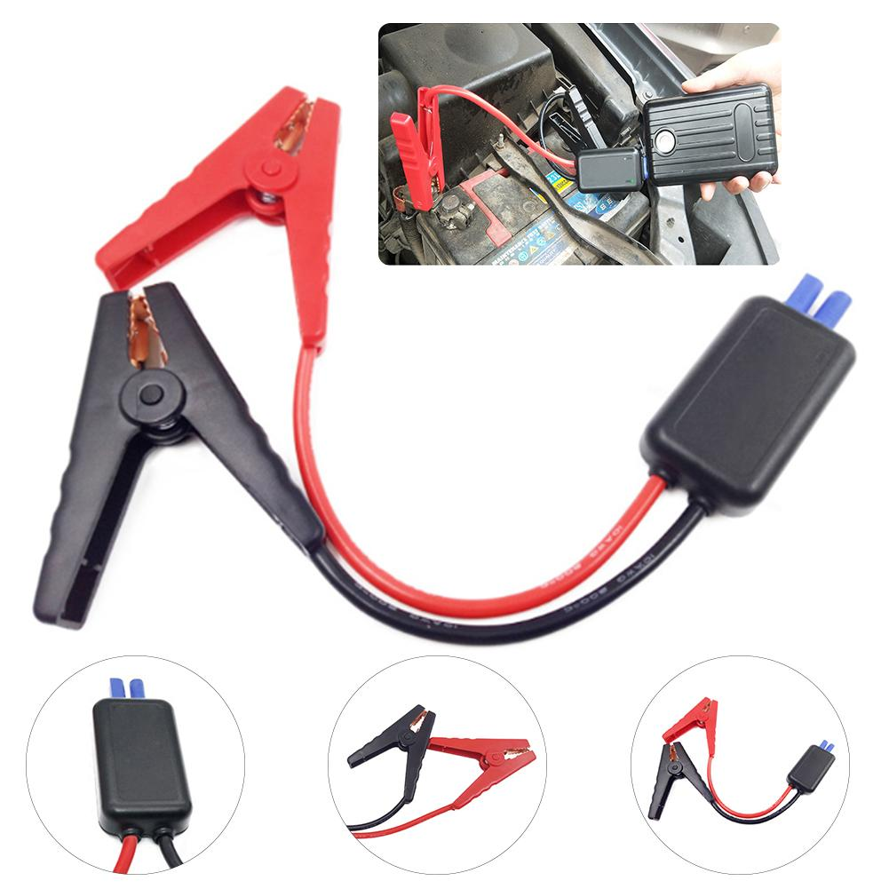 Auto Car Emergency Start Power Supply 12V 600A Multifunction Intelligent Connector Clip Diesel Car Battery Fire Line image