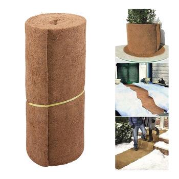 Ogród wkład kokosowy rolka 60*100cm kokosowa mata z włókna szklanego doniczka wiszący kosz Liner dla Home Decor na narzędzia ogrodowe narzędzia tanie i dobre opinie Z tworzywa sztucznego Coco Liner Roll