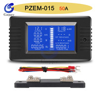 PZEM-015 Battery Tester DC Voltage Current Power Capacity Internal And External Resistance Residual Electricity Meter With 50A