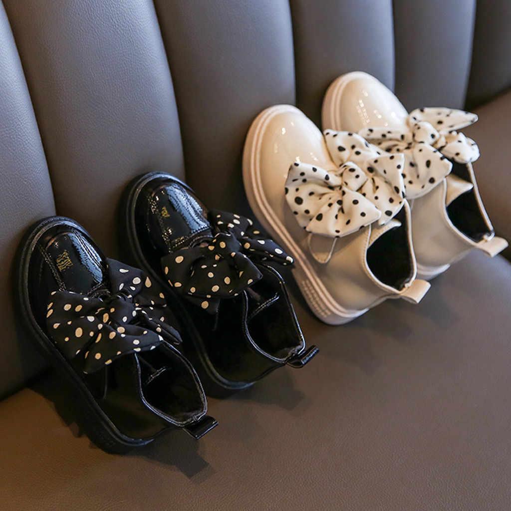 Kinderen Laarzen Anti-Slip Baby Meisjes Laarzen Bling Enkel Sport Korte Laarsjes Casual Schoenen Rubber Laarzen Voor Kinderen Baby schoenen 2020
