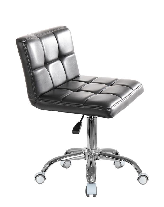 Adjustable Rolling Stool Casual Lift Ergonomic Swivel Hydraulic Salon Chair Office Beauty Salon Massage Spa Stool Work Chair