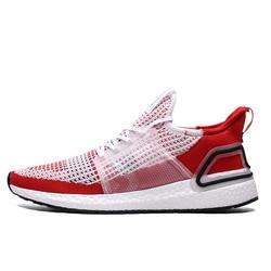 New Arrivals Flyknit UltraBoost Men Running Shoes Red Trainers Men Sneaker Outdoor Sport Shoes Zapatillas Deportivas Hombre
